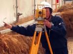 光波測距器による工事測量